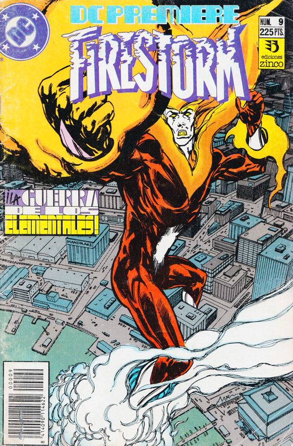 DC Premiere #9 featuring Firestorm - in Spanish