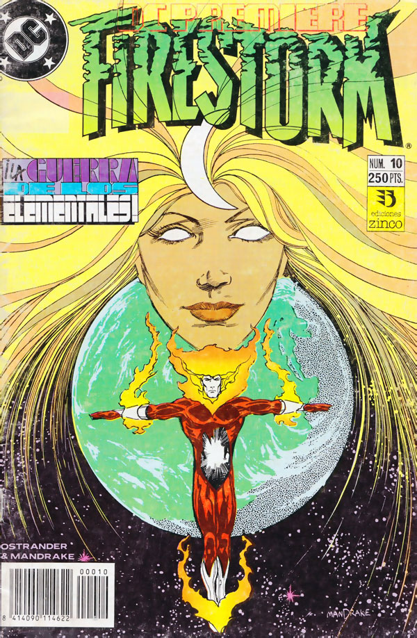 DC Premiere #10 featuring Firestorm - in Spanish