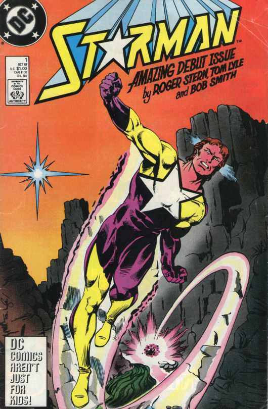 Starman - Will Payton - by Roger Stern and Tom Lyle