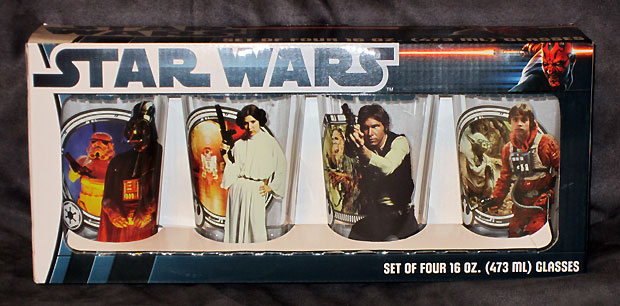 Star Wars Pint Glasses