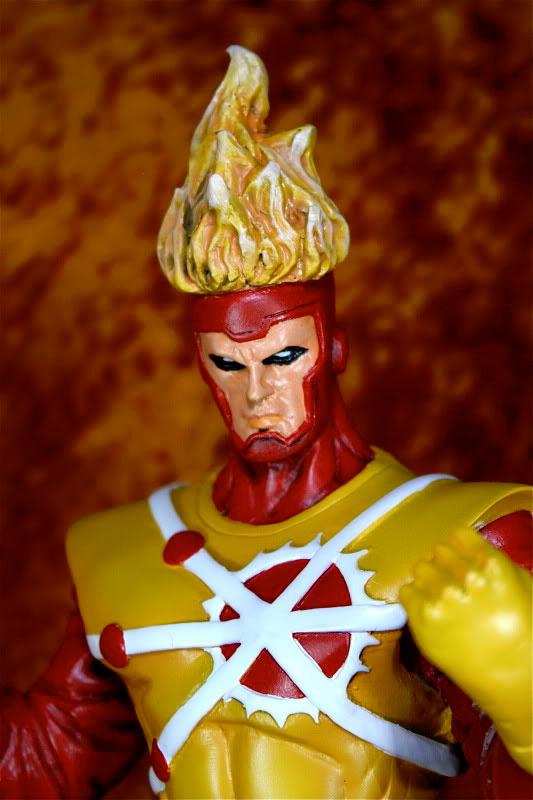 Firestorm statue by Gabriel Luna