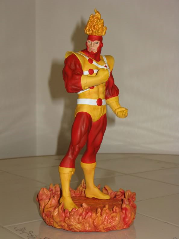 Firestorm custom statue by moore_000 from a Wolverine statue