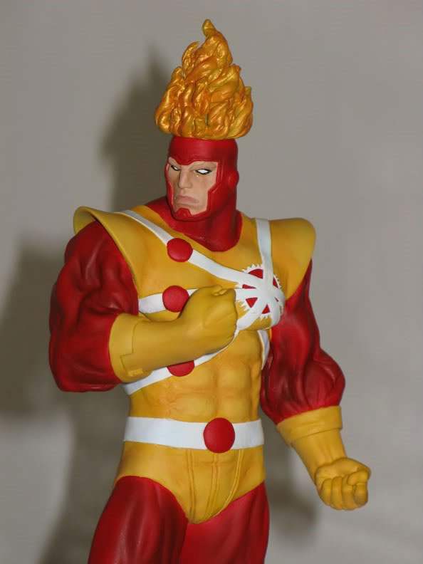 Firestorm statue by moore_000 from a Wolverine statue