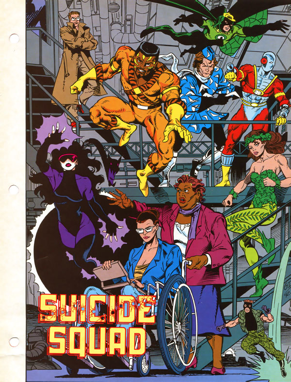 The New Thinker from Suicide Squad - 1991 DC Comics Who's Who