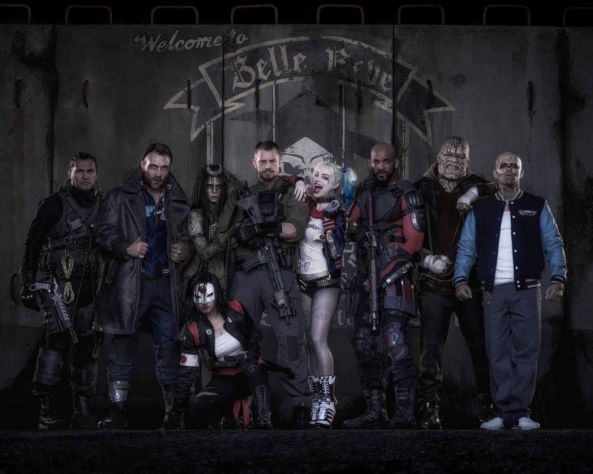 Suicide Squad movie cast