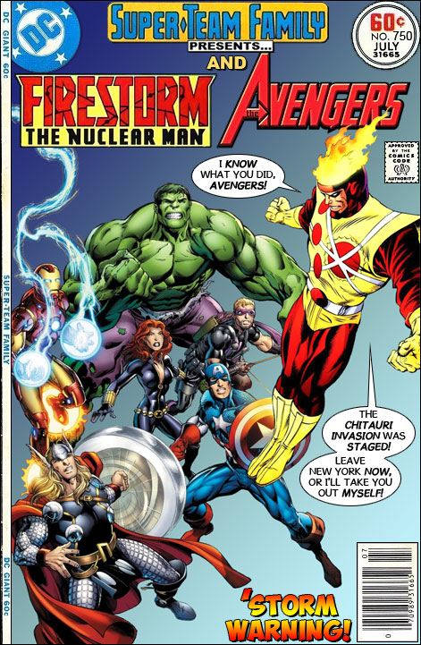 Marvel's The Avengers vs Firestorm - Super-Team Family