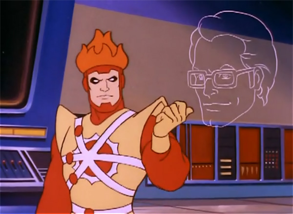 Firestorm on the Super Friends cartoon