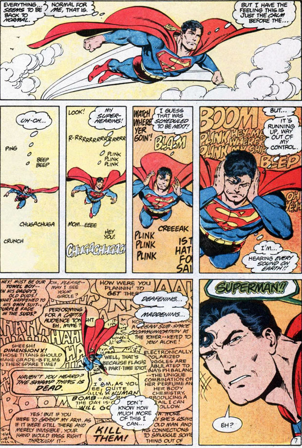 Superman #10 by John Byrne and Karl Kesel