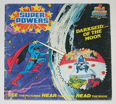 Super Powers: Darkseid... of the Moon, See & Read LP