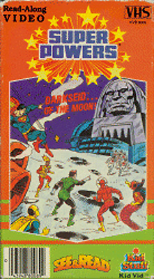 Super Powers: Darkseid... of the Moon, See & Read VHS