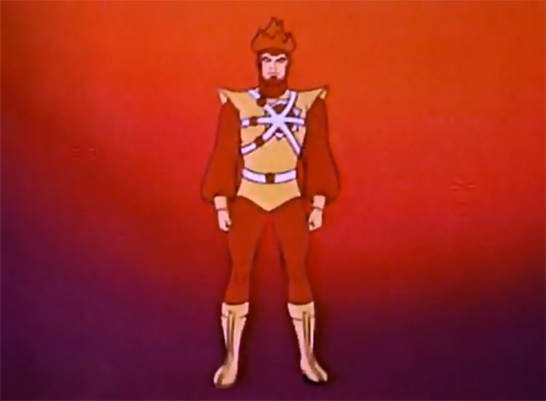 Firestorm on Super Friends: The Legendary Super Powers Show