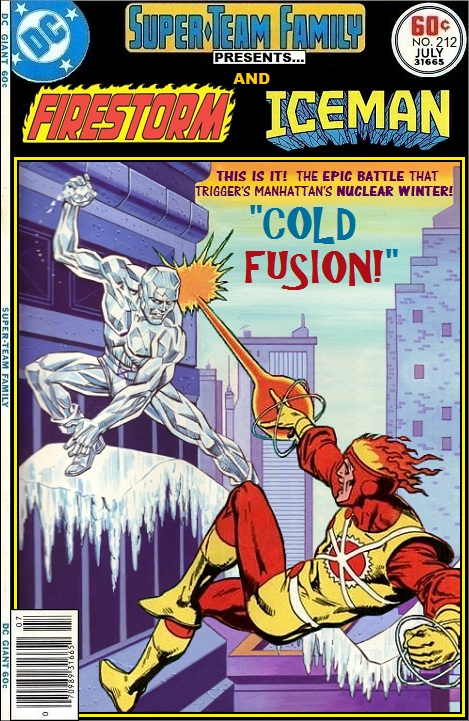 Super Team Family Presents Firestorm and Iceman