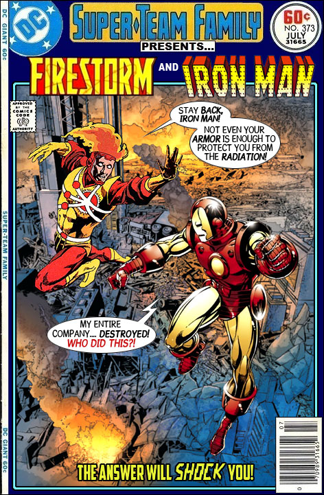 Super-Team Family Presents Firestorm and Iron Man