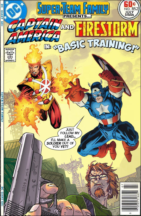Super-Team Family: Captain America and Firestorm