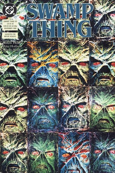 Swamp Thing #101 edited by Stuart Moore