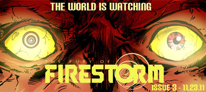 Firestorm #3 Teaser by Yildiray Cinar