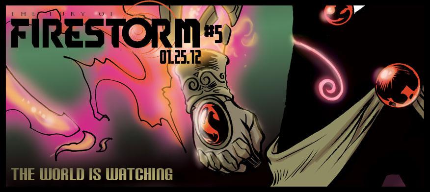 Fury of Firestorm #5 teaser by Yildiray Cinar