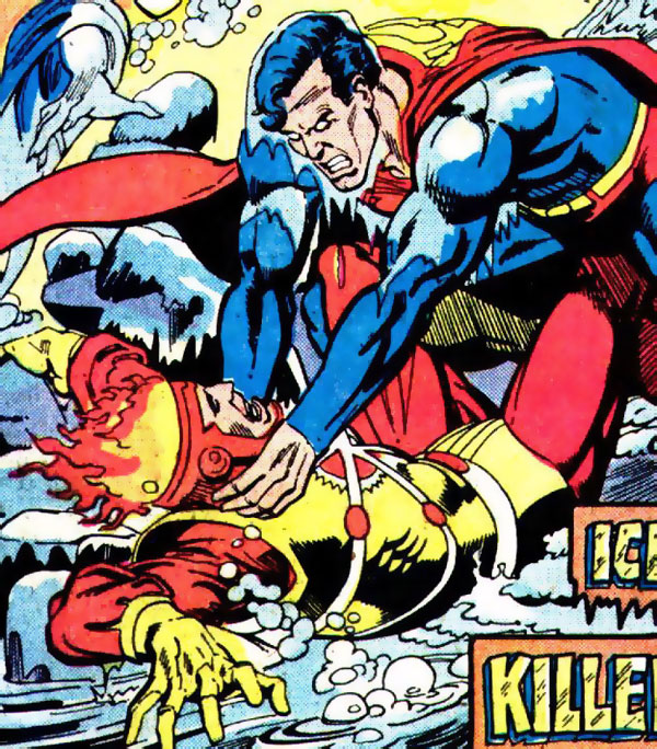 Firestorm in DC Comics Presents #17 drawn by Jose Luis Garcia-Lopez and Steve Mitchell