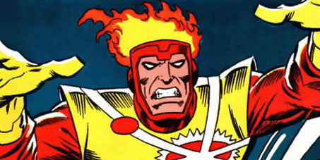 Firestorm the Nuclear Man #1 cover by Al Milgrom