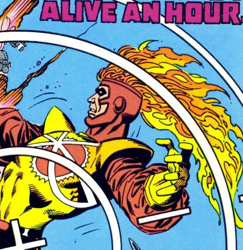 Firestorm from FIRESTORM THE NUCLEAR MAN #65 by Ross Andru