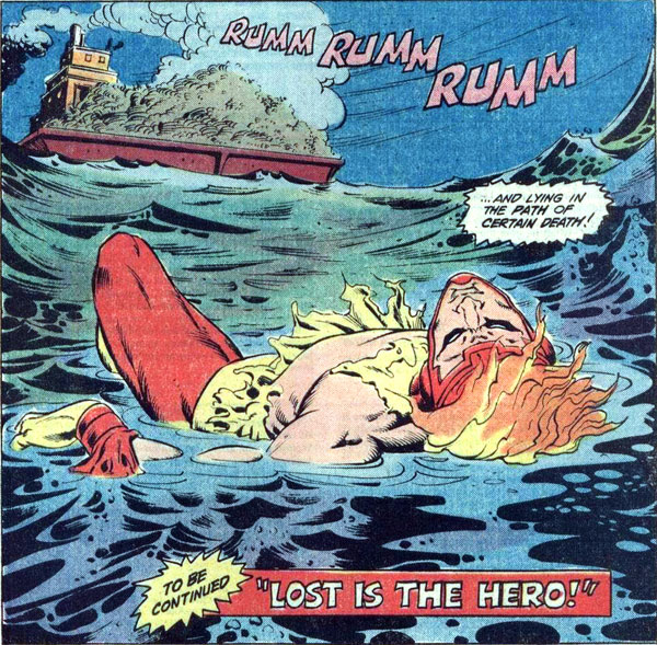 Firestorm in Flash #302 drawn by Denys Cowan and Rodin Rodriguez