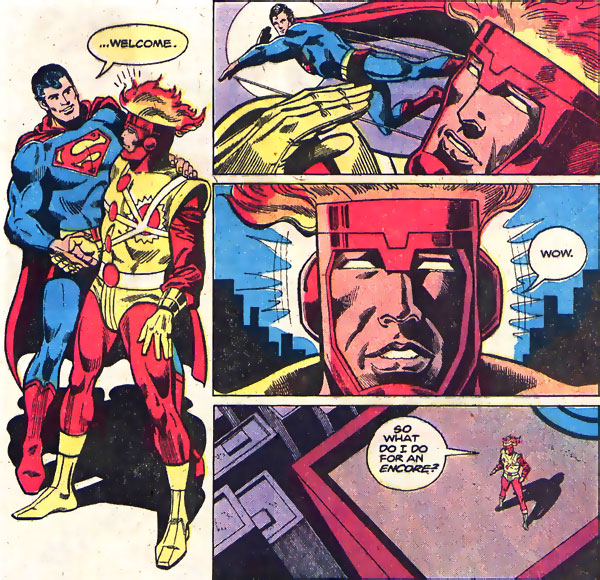 Firestorm in Justice League of America #179 by Dick Dillin and Frank McLaughlin