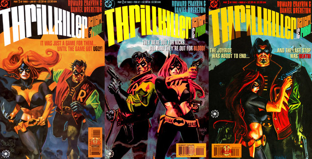 Thrillkiller by Howard Chaykin and Dan Brereton