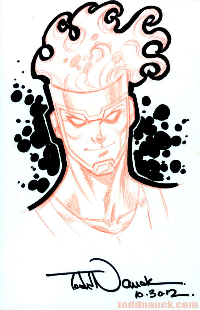Firestorm by Todd Nauck