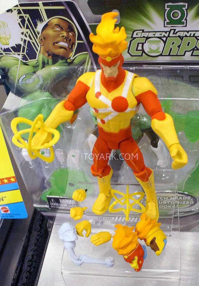 Mattel Total Heroes Firestorm