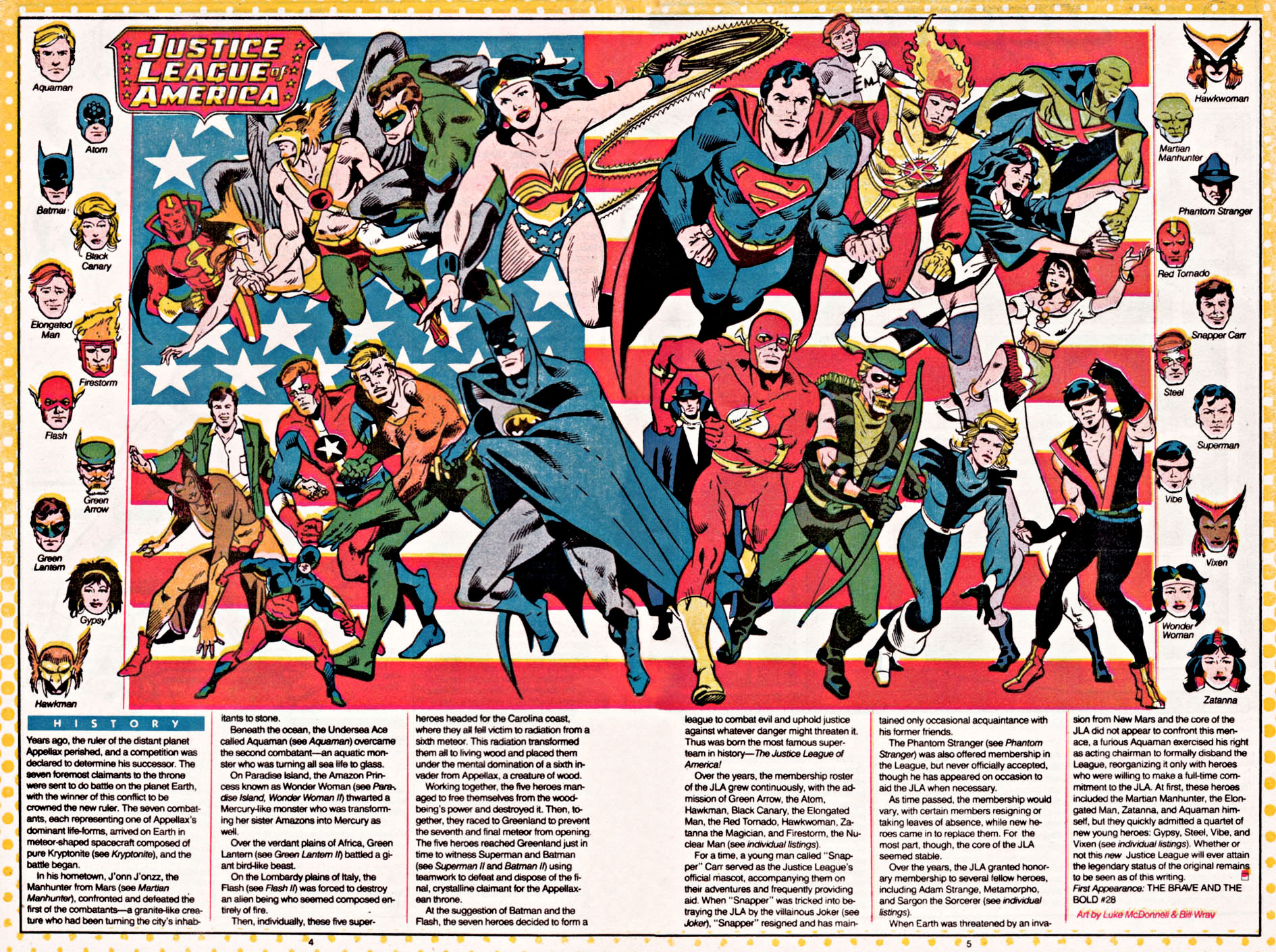 Justice League of America by Luke McDonnell & Bill Wray