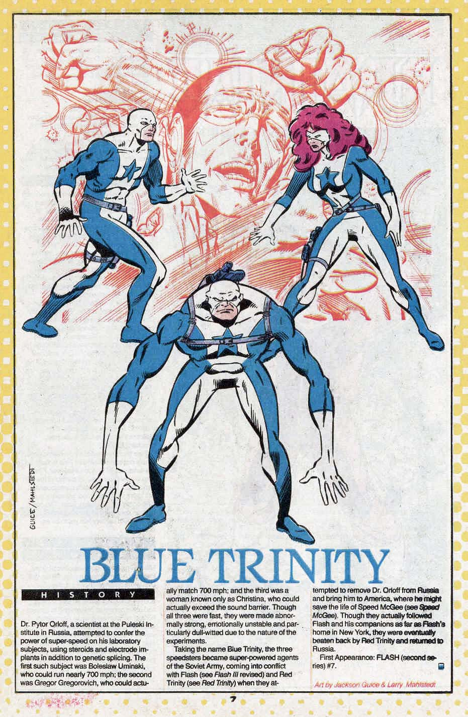 Blue Trinity by Jackson Guice and Larry Mahlstedt