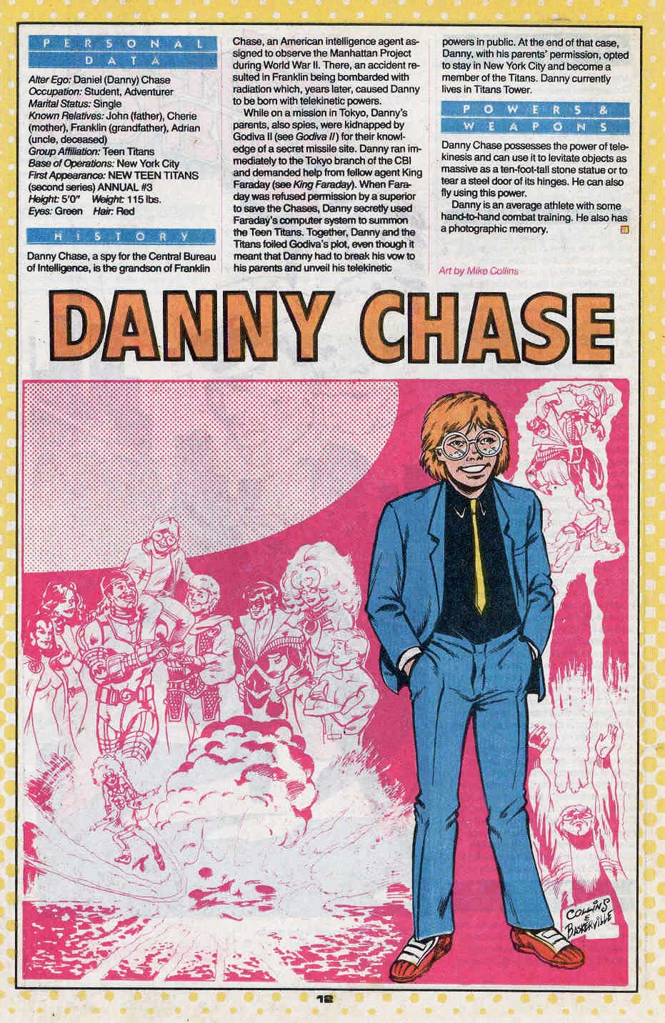 Danny Chase by Mike Collins