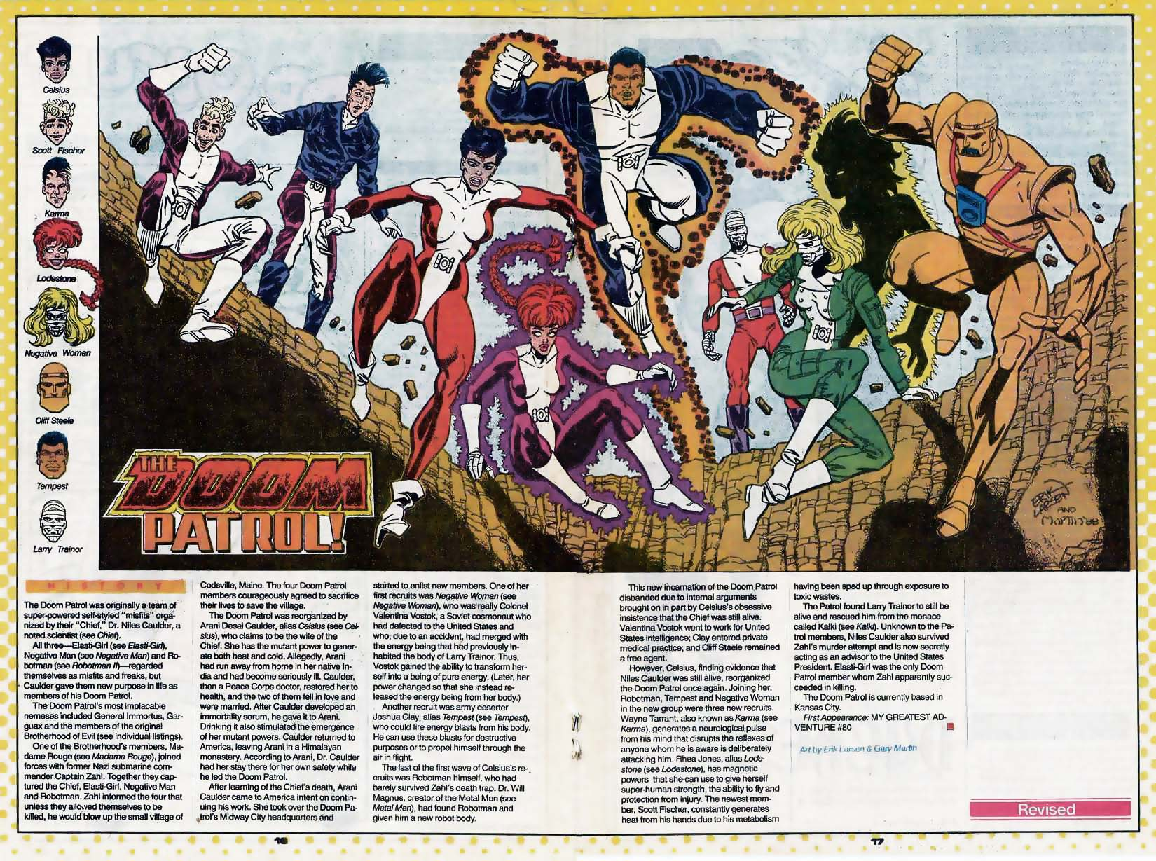 Doom Patrol by Erik Larsen and Gary Martin