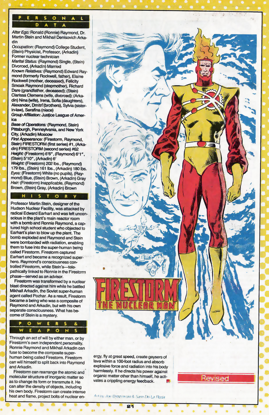 Firestorm by Joe Brozowski and Sam De La Rosa