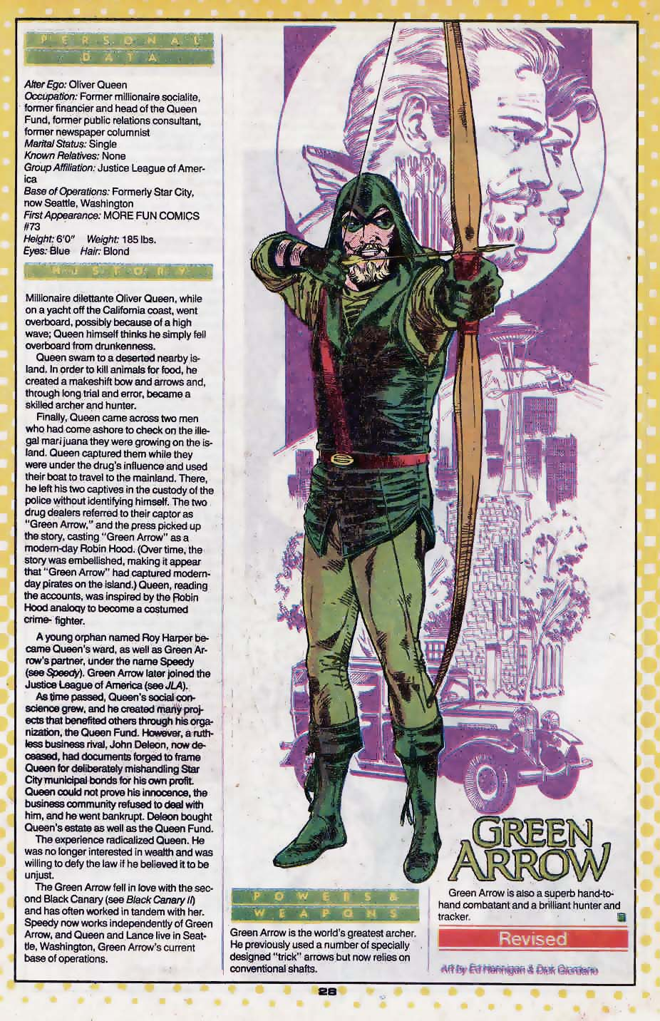Green Arrow by Ed Hannigan and Dick Giordano