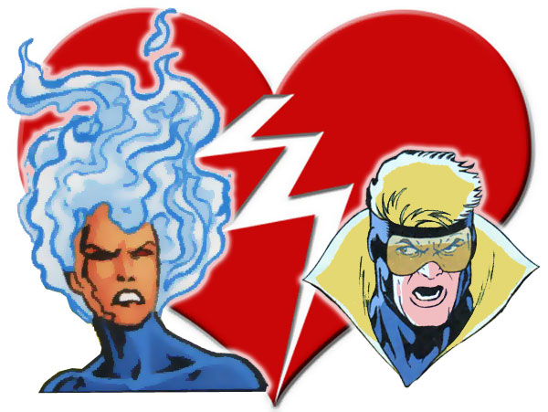 Firehawk and Booster Gold