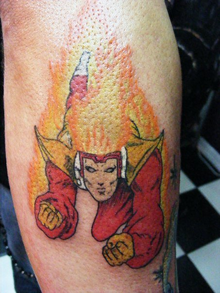 Firestorm Tattoo