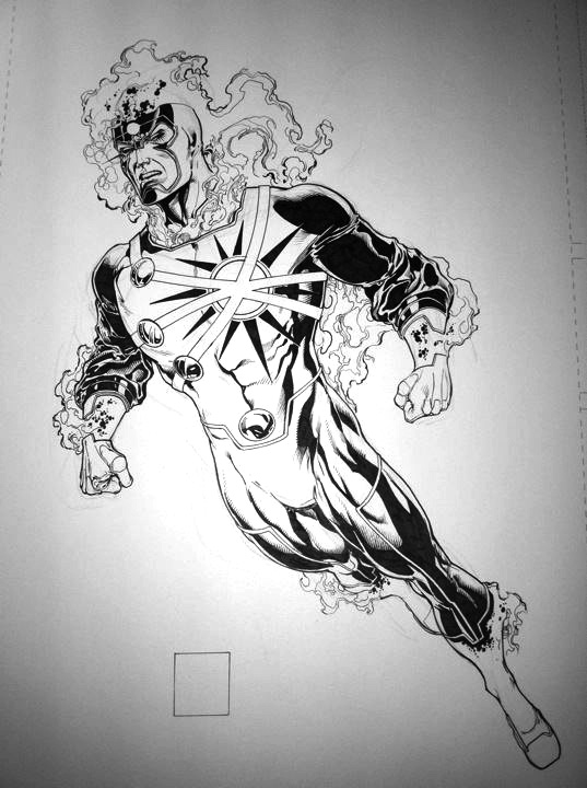 Firestorm from The New 52 by Ethan Van Sciver