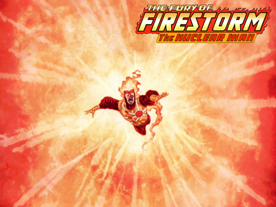 Firestorm Wallpaper from Brightest Day #10 by Ivan Reis on Sensor Sweep
