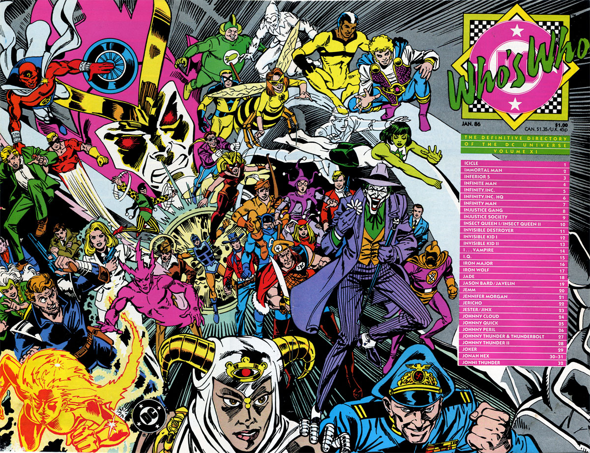 Who's Who: The Definitive Directory of the DC Universe Volume XI by Paris Cullins and Dick Giordano
