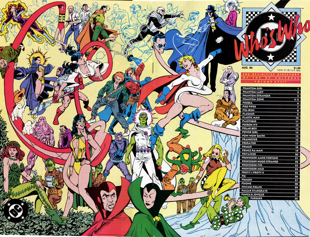 Who's Who The Definitive Directory of the DC Universe #18