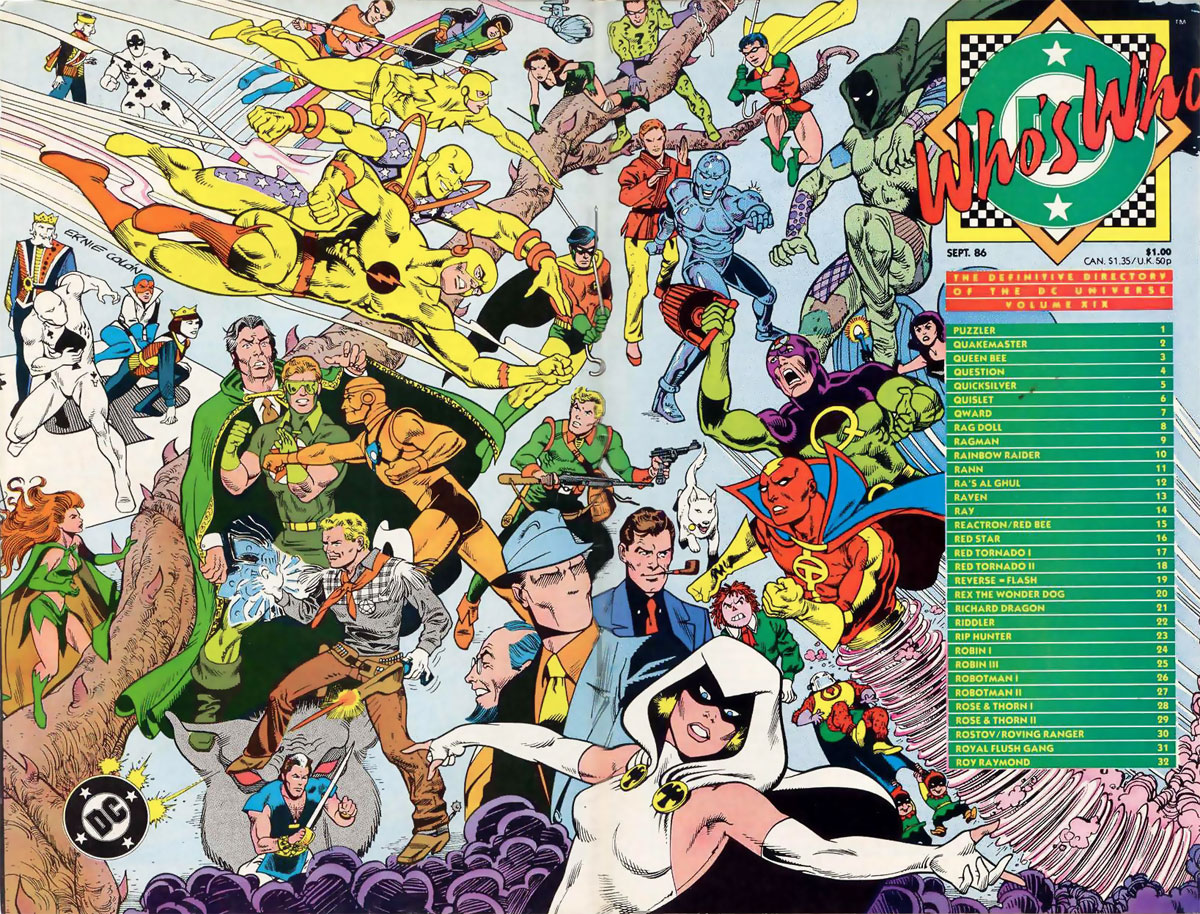 Who's Who The Definitive Directory of the DC Universe #19