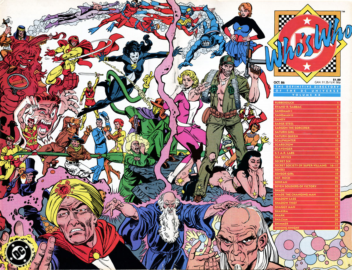 Who's Who The Definitive Directory of the DC Universe #20
