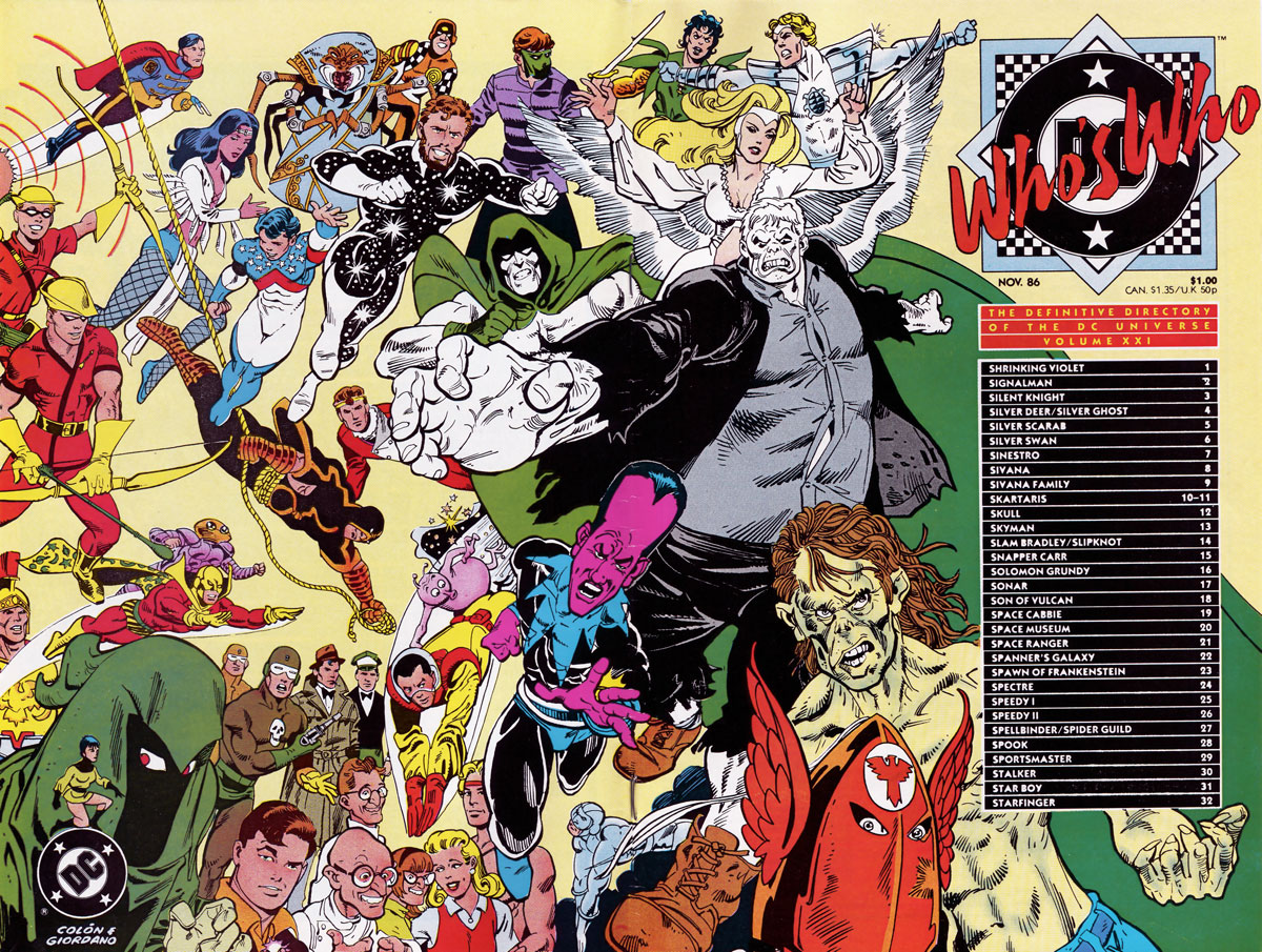 Who's Who The Definitive Directory of the DC Universe #21