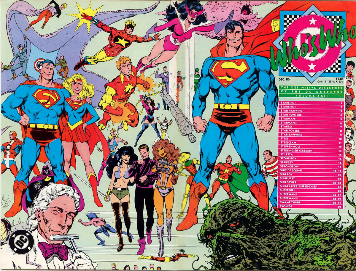 Who's Who The Definitive Directory of the DC Universe #22