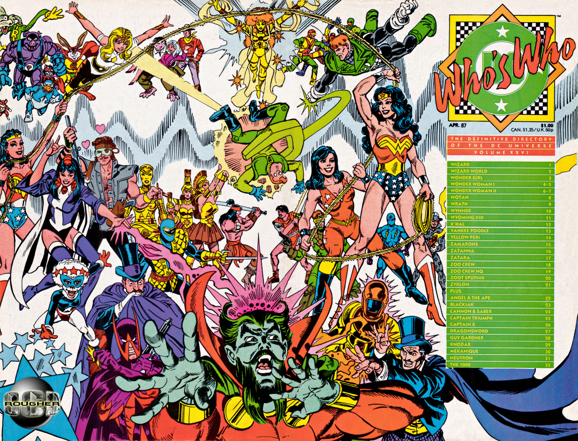 Who's Who The Definitive Directory of the DC Universe volume 26