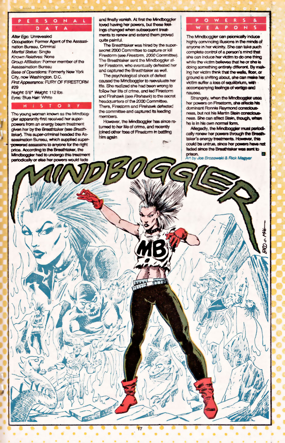 Who's Who Mindboggler by Joe Brozowski and Rick Magyer
