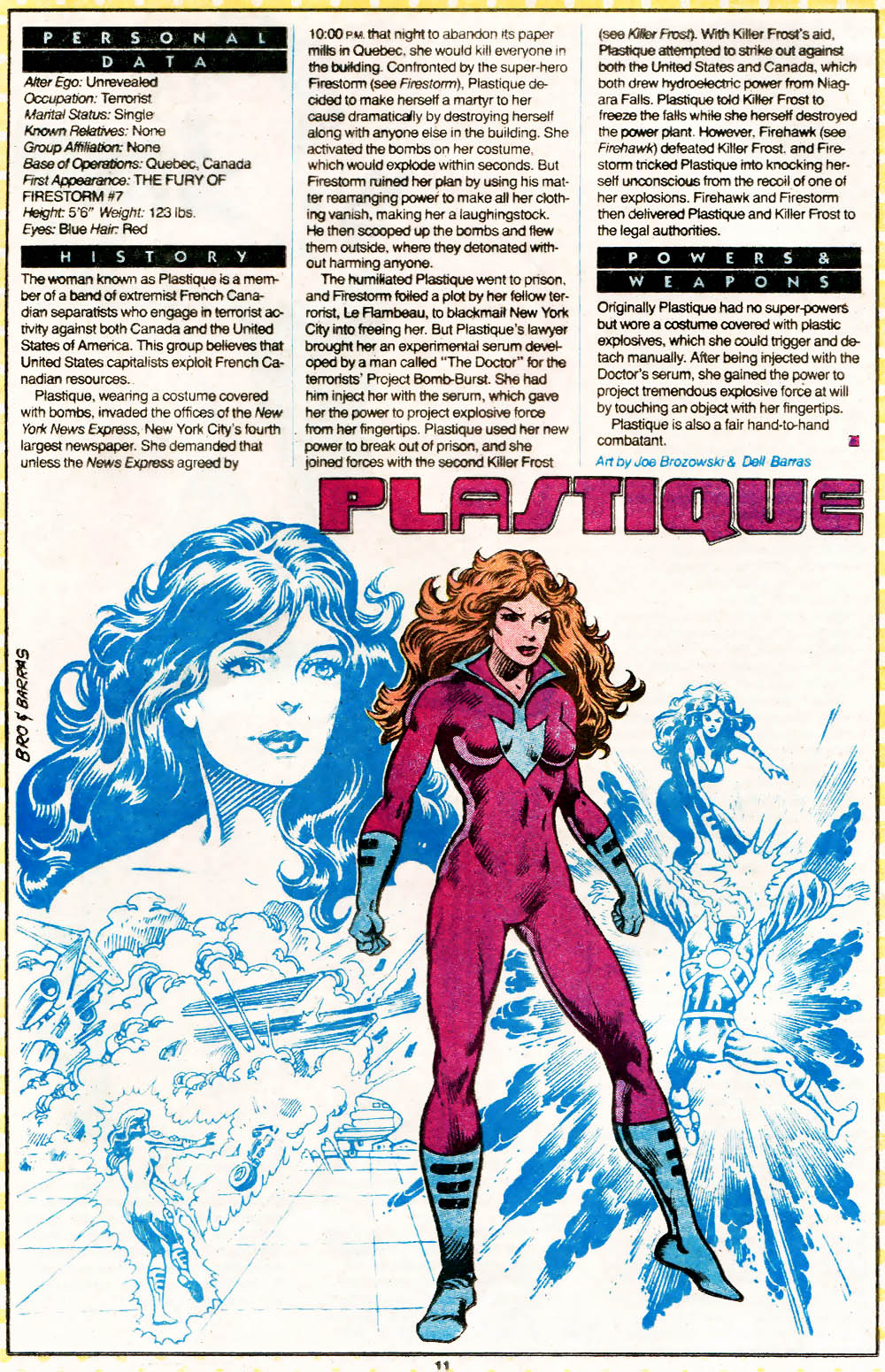 Plastique from Who's Who