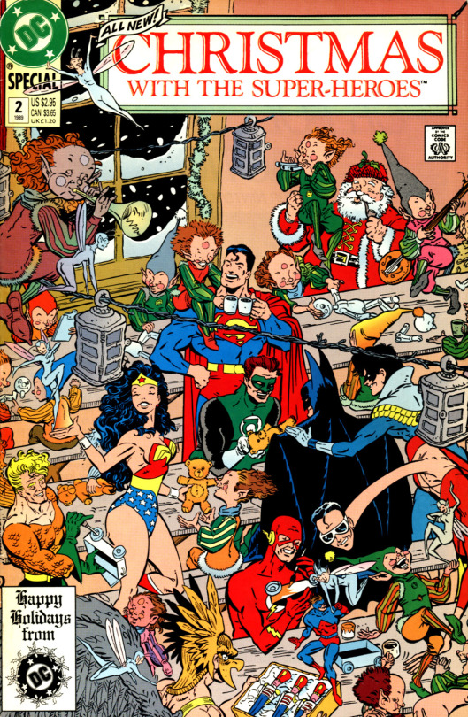 DC Comics Christmas with the Super-heroes #2