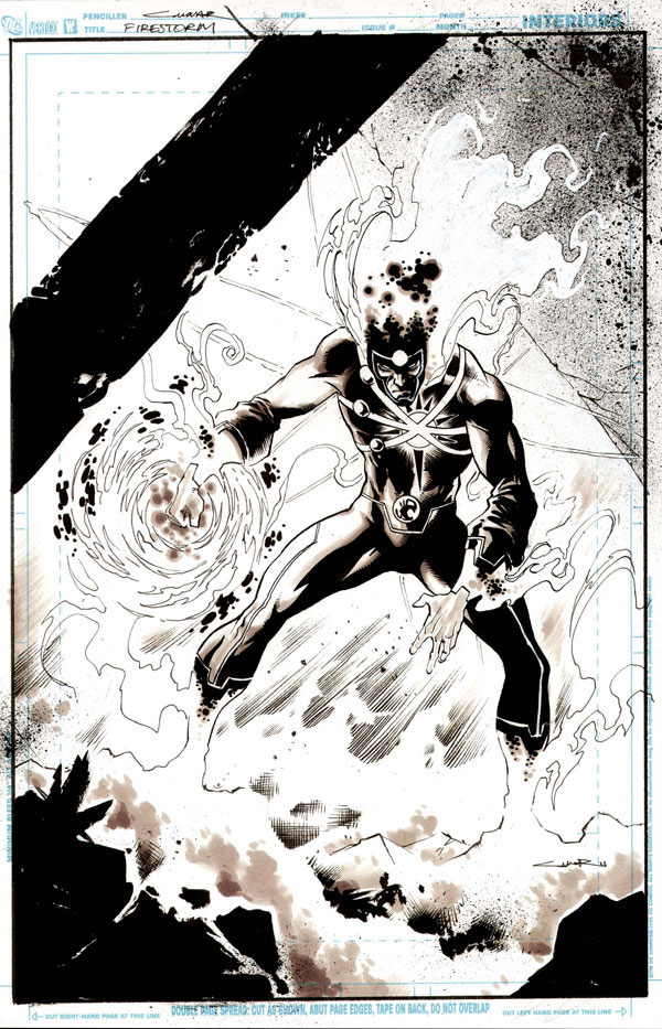 Yildiray Cinar draws Ronnie Raymond as Firestorm!